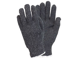 Jersey and  Canvas Gloves