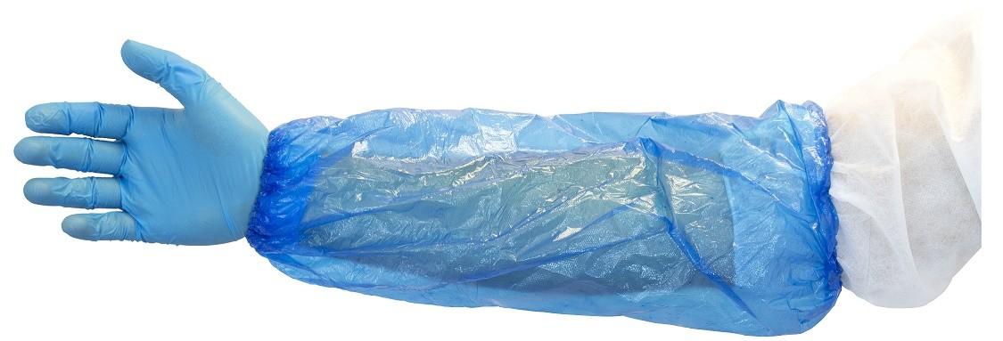 "18"" Blue Polyethylene Sleeve"