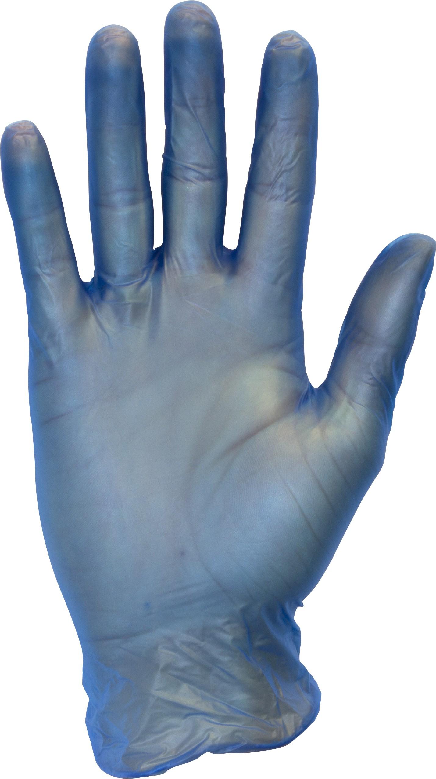 Blue Standard Powder Free Vinyl