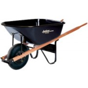 6CU.FT. STEEL TRAY CONTRACTOR WHEELBARROW