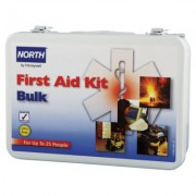 25 PERSON BULK FIRST AIDKIT METAL CASE