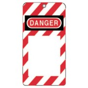 LOCK OUT TAG DO NOT OPERATE W/GROMMET