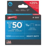 "50516 T50 5/16"" STAPLES1250/PK .050 WIRE"
