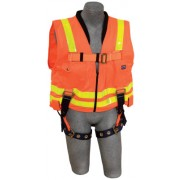 DELTA VEST HARNESS (HI VIS ORANGE) TB LEGS- SIZE