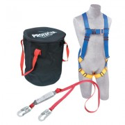 5 POINT HARNESS SINGLELEG SHOCKPACK LANYARD W