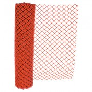 SAFETY ORANGE FENCE 4X100 ECONOMY