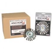 "ANCHOR 3"" STD TWIST KNOTWHEEL ST-3 .014 1/2-3/8"