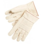 24 OZ.100% COTTON HOT MILL GLOVES KNUCKLE STR
