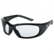FORCEFLEX 3 BLACK FRAMECLEAR ANTI-FOG LENS