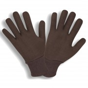 BROWN, 2-PIECE REVERSIBLE, KNIT WRIST