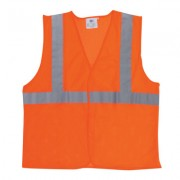 DWOS TYPE 2 MESH ORANGE/SILVER DELUXEXL/2XL VEST