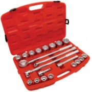 "21 PIECE 3/4"" DRIVE STANDARD MECHANICS TOOLS SET"