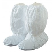 """TYVEK ISOCLEAN BOOT COVER 18"""" WHITE"""