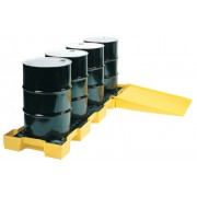 4 DRUM IN-LINE SPILLCONTAINMENT