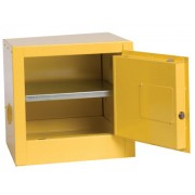 90GAL. 2-DOOR SAFETY STORAGE CABINET 2 SHELVES