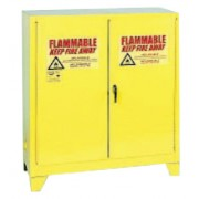 2-DOOR SAFETY STORAGE CABINET YELLOW 30GAL.CAP.