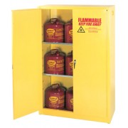 TWO DOOR- TWO SHELF- SAFETY CABINET 45