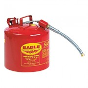 "2.5 GAL 12"" FLEX SPOUT7/8"" ODTYPE 2 SAFETY CAN"