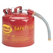 "5 GAL 12"" FLEX SPOUT7/8"" OD SAFETY CAN"
