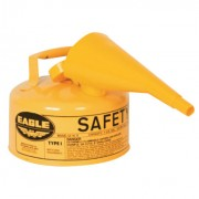 SAFETY CAN TYPE 1 W/FUN1 GAL YELLOW
