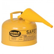 SAFETY CAN TYPE 1 W/FUN2.5 GAL YELLOW