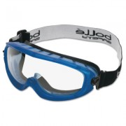 ATOM GOGGLE CLEAR PC/BLUE 1 PAIR