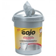 GOJO SCRUBBING WIPES 72COUNT CANISTER