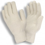 STANDARD WEIGHT, NATURAL, LOOP-IN, KNIT WRIST