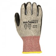 MACHINIST™ 13-GAUGE, HPPE/GLASS SHELL, BLACK FOAM NITRILE PALM COATING, ANSI CUT LEVEL 4