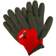 COLD SNAP MAX™, TWO-PLY, RED NYLON SHELL, BRUSHED ACRYLIC TERRY LINING, 3/4 BLACK FOAM PVC COATING