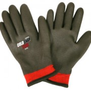 COLD SNAP XTREME™, TWO-PLY, RED NYLON SHELL, BRUSHED ACRYLIC TERRY LINING, FULL BLACK FOAM PVC COATING