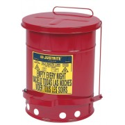 6 GALLON OILY WASTE CANW/LEVER