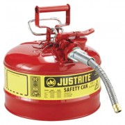 "2 1/2 GAL RED SAFETY CANW/5/8"" DIA HOSE"