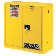 45 GALLON CABINET MANUALDOOR YELLOW
