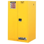 60 GALLON CABINET MANUALDOOR YELLOW