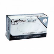 CORDOVA SILVER™ LATEX, INDUSTRIAL GRADE, POWDERED, 10 BOXES OF 100