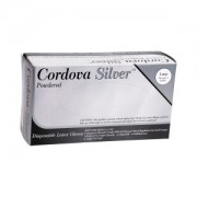 CORDOVA SILVER II™ LATEX, COMMODITY/INDUSTRIAL GRADE, POWDERED, 10 BOXES OF 100