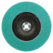 FLAP DISC 577F  T29 4 INX 5/8 IN 80 YF-WEIGHT