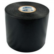 "4""X100' BLACK PIPE WRAP3ROL/SQ"