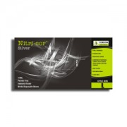 NITRI-COR SILVER™ NITRILE, INDUSTRIAL GRADE, POWDER FREE, TEXTURED, 4-MIL, 10 BOXES OF 100