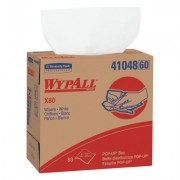WYPALL X80 SCOTTCLOTH POPUP WHITE 80 PER BOX