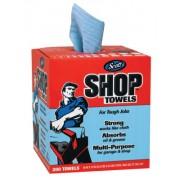 (BOX/200) SCOTT SHOP TOWEL RAGS IN A BOX
