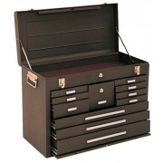 00094 MACHINIST CHEST 11DRAWER BROWN
