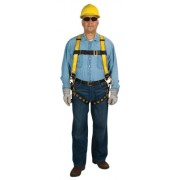 WORKMAN HARNESS VEST STDTWBKL LGSTP 3D-RING