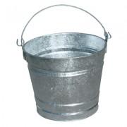 10QT GALVANIZED WATER PAIL 12/BUNDLE