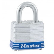 1-9/16 IN LAMINATED STLPADLOCK; 4 PIN; 3/4 IN