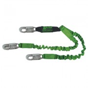 TWO-LEGGED 6' STRETCHABL;E WEB LANYARD