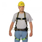 DURAFLEX CONSTRUCTION HARNESS WITH FRICTION BUC