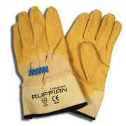 RUFFIAN™ PREMIUM RUBBER DIPPED, CANVAS LINED, CRINKLE FINISH, SAFETY CUFF