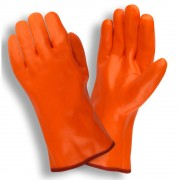HI-VIS ORANGE, SINGLE DIPPED, FOAM INSULATED PVC, SMOOTH FINISH, 12-INCH